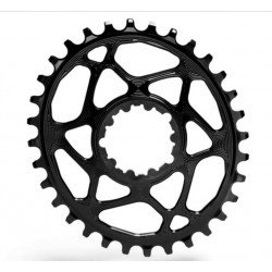 PLATO ABSOLUTE BLACK OVAL SRAM GXP DIRECT 30T