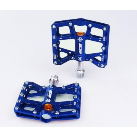PEDALES ICE WHIP CNC AZUL